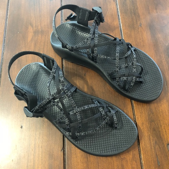 77f3c203adfe4 Chaco Shoes - New Chaco ZX3 Classic Black Sandals Size 10